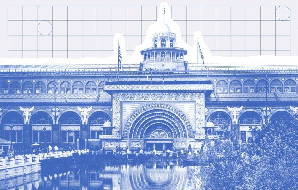 Chicago Transportation Building illustration
