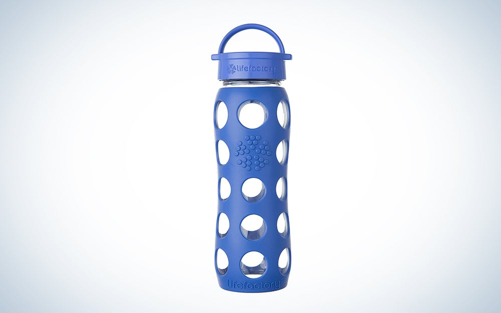 Lifefactory 22-Ounce Glass Water Bottle