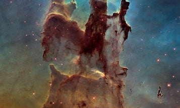 How scientists colorize Hubble's deep space photographs