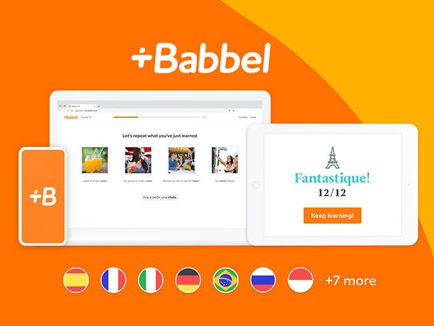 Get lifetime access to Babbel's language learning for just $149