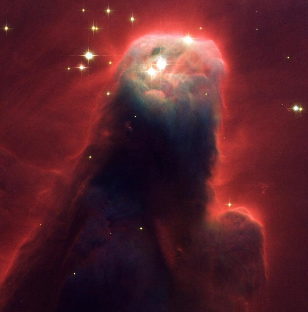 Hubble Photograph cone nebulas
