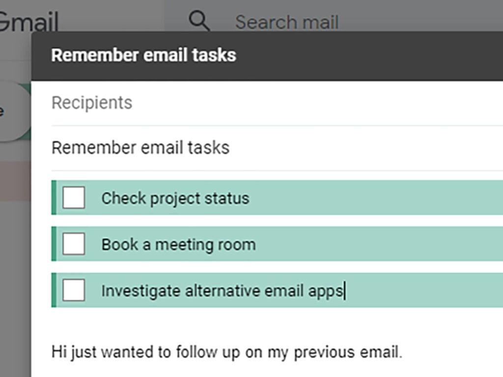 Screenshot of Mailbutler
