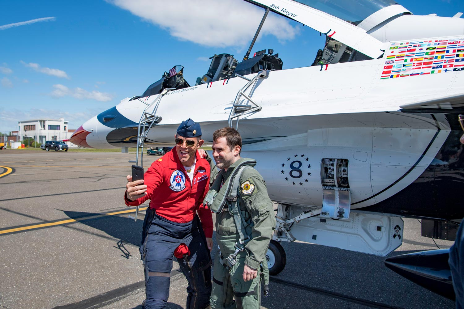 I flew in an F-16 with the Air Force and oh boy did it go poorly