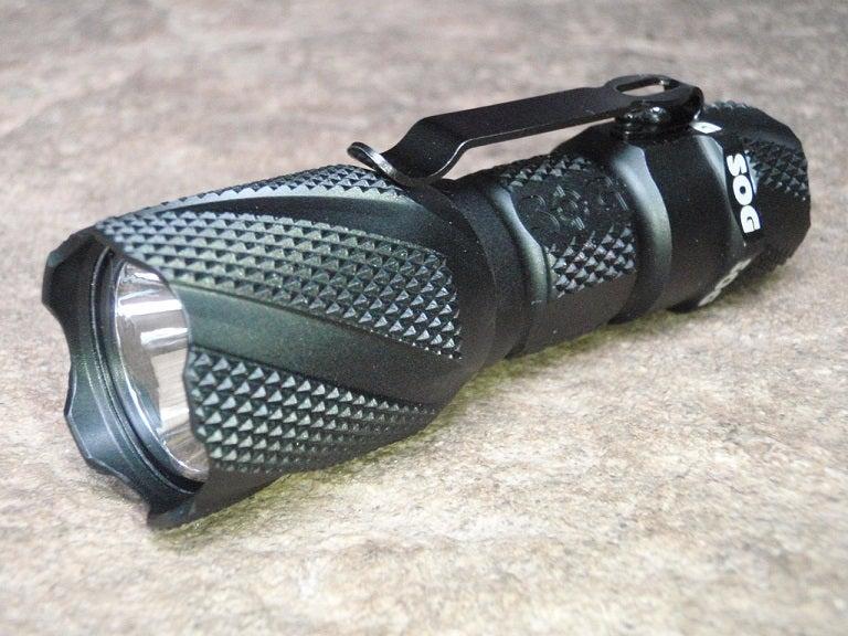 sog flashlight annodized