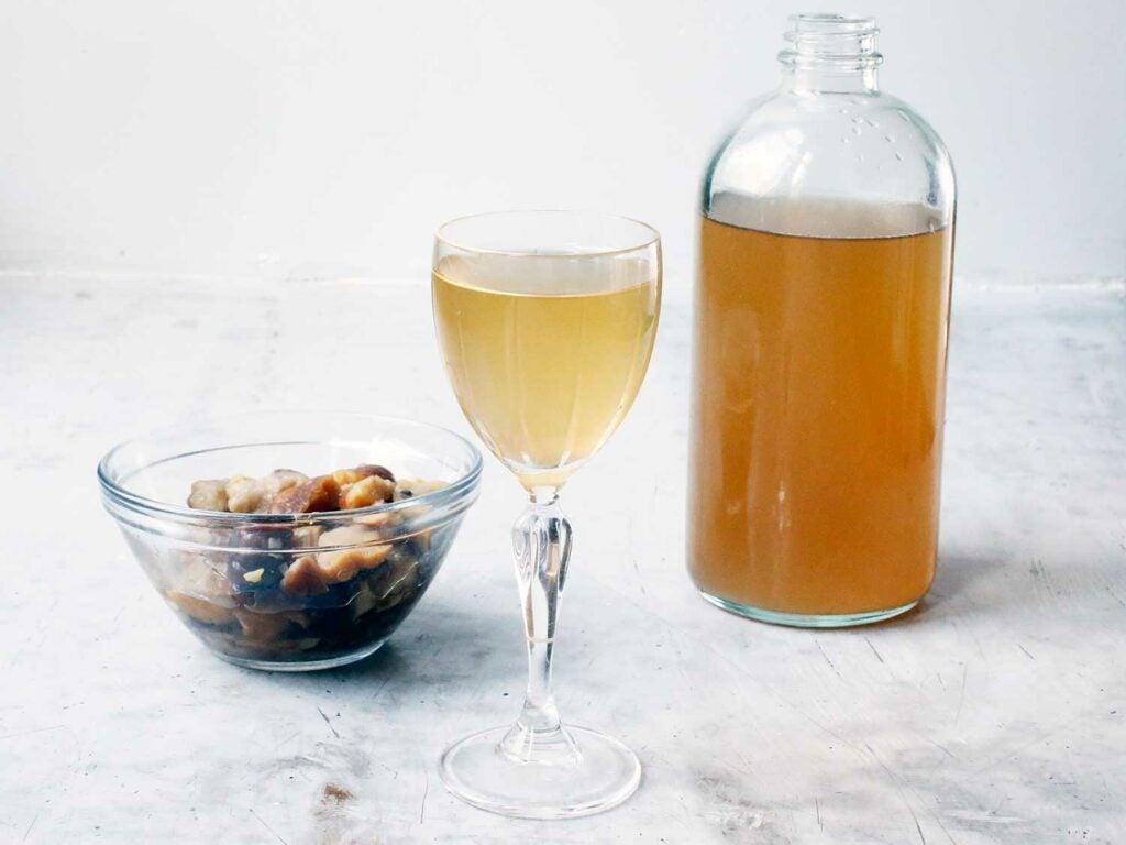 Salted chestnut liqueur