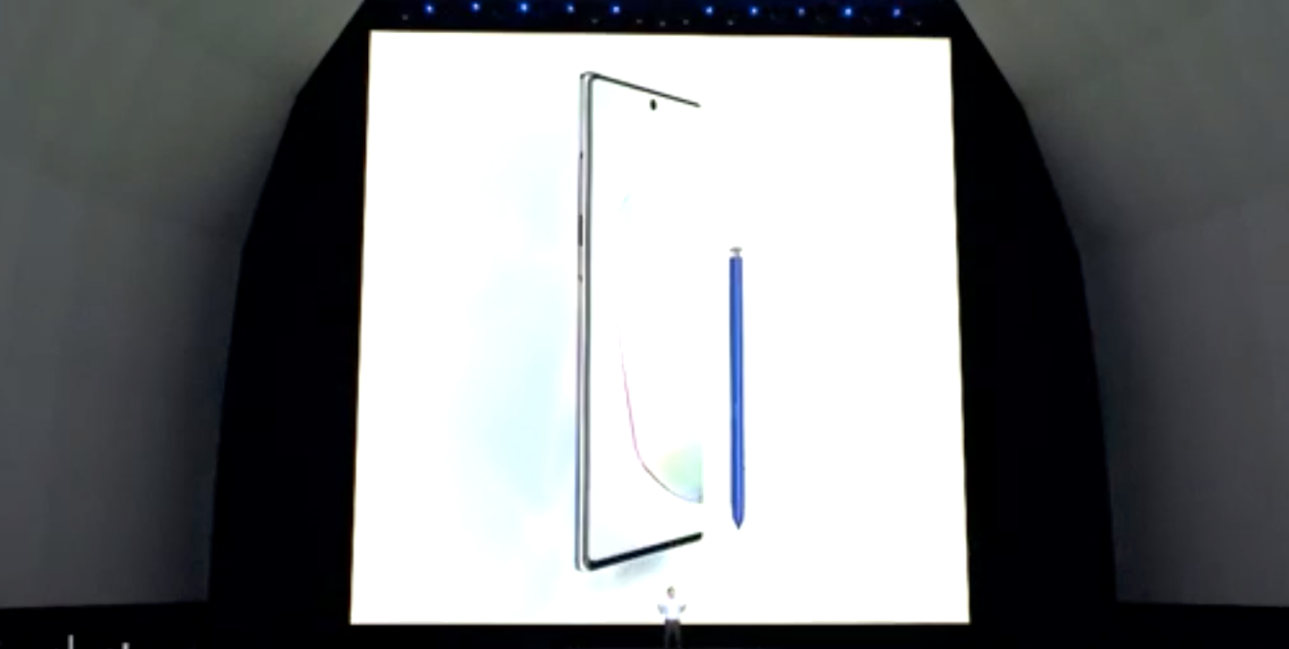 Let's watch Samsung announce the Galaxy Note 10 and more its Unpacked event