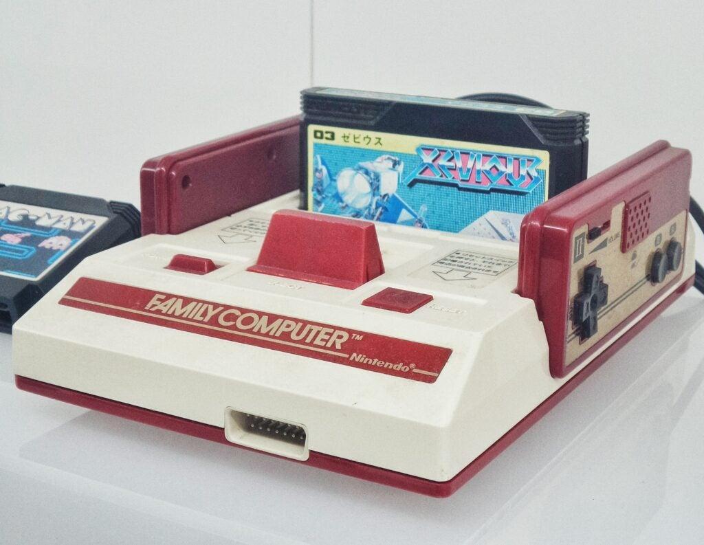 Nintendo Family Computer console