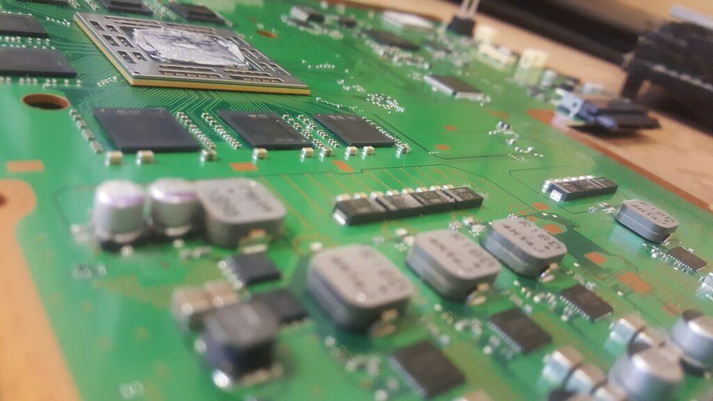 Console circuit board