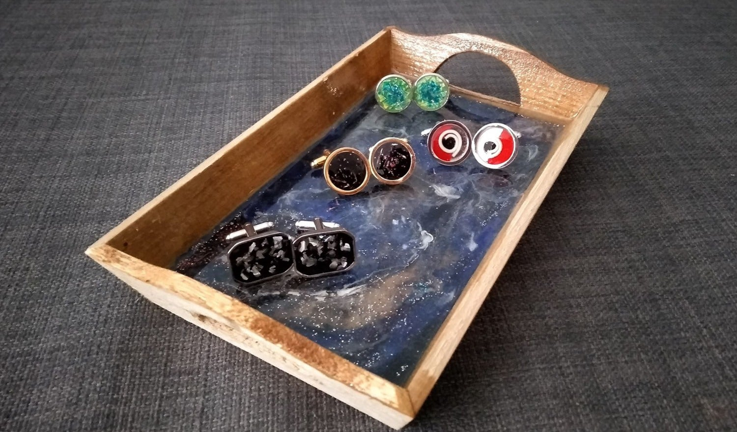 Make cufflinks from upcycled materials and look like a boss