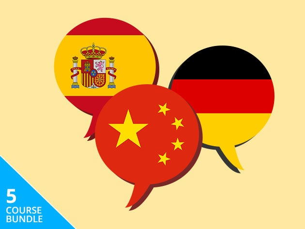 Learn 5 new languages from scratch with this $20 bundle of online courses