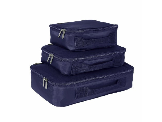 Make your baggage allowance go further with Genius Pack Compression Cubes