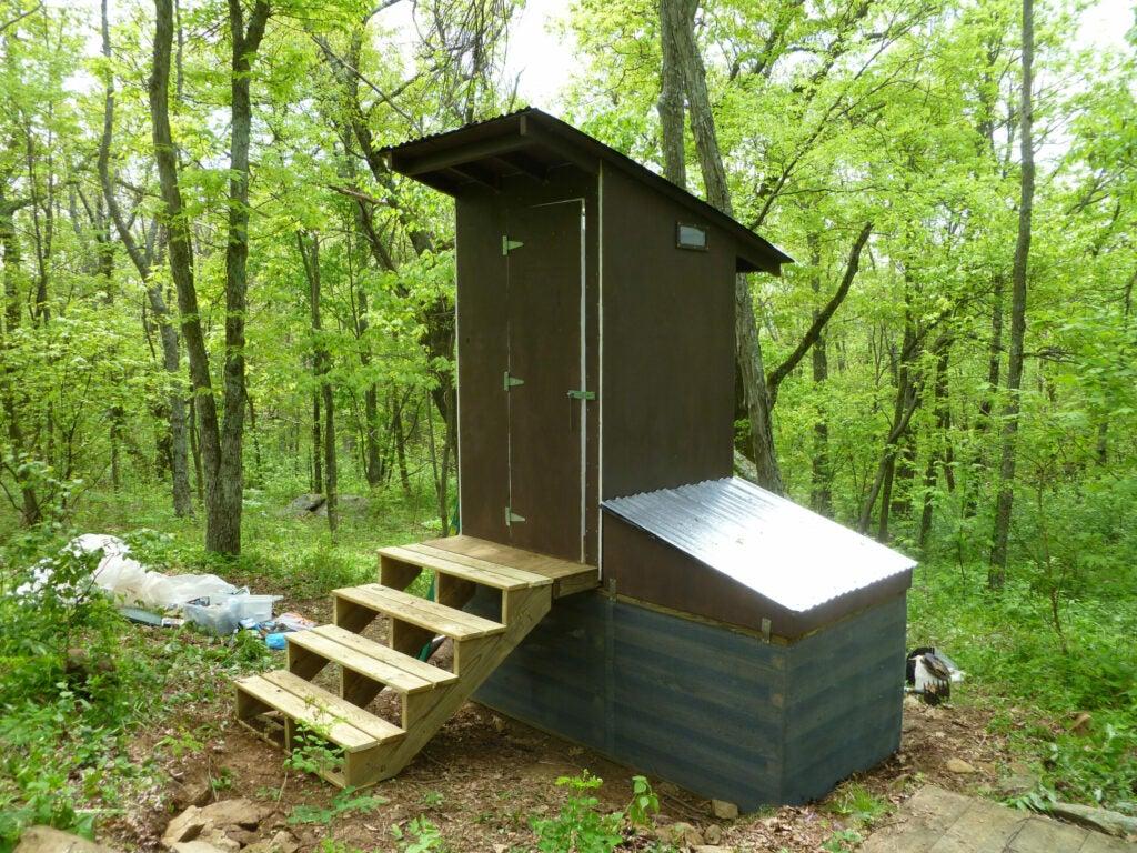 composting toilet appalachian trail