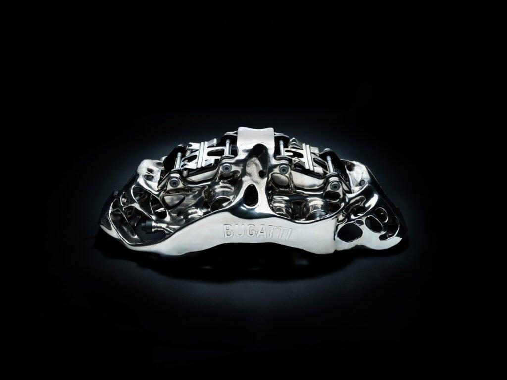 Bugatti 3D-Printed Titanium Brake