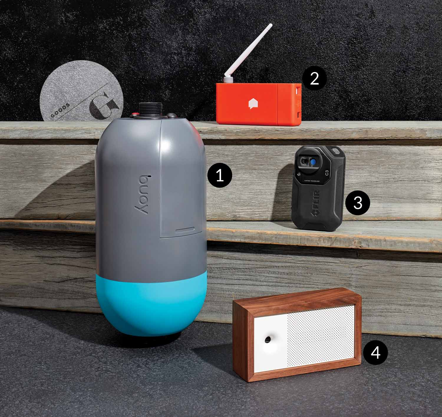 Tech that monitors your water use, air quality, and more