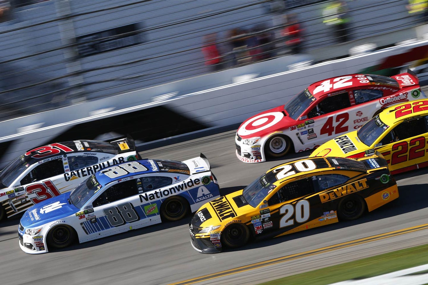 NASCAR may be the fastest road to learning about physics