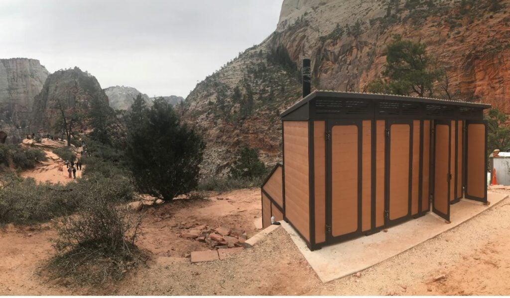 toilet tech zion park