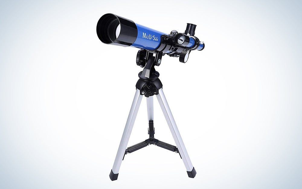 MaxUSee Kids Telescope 400x40mm with Tripod & Finder Scope