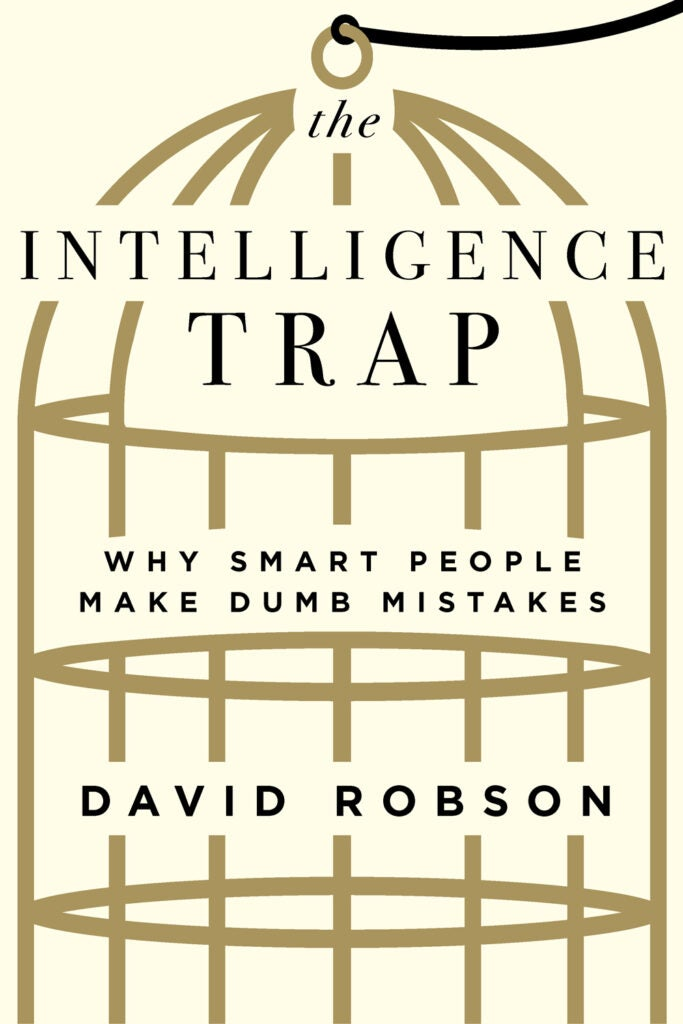 the intelligence trap book cover