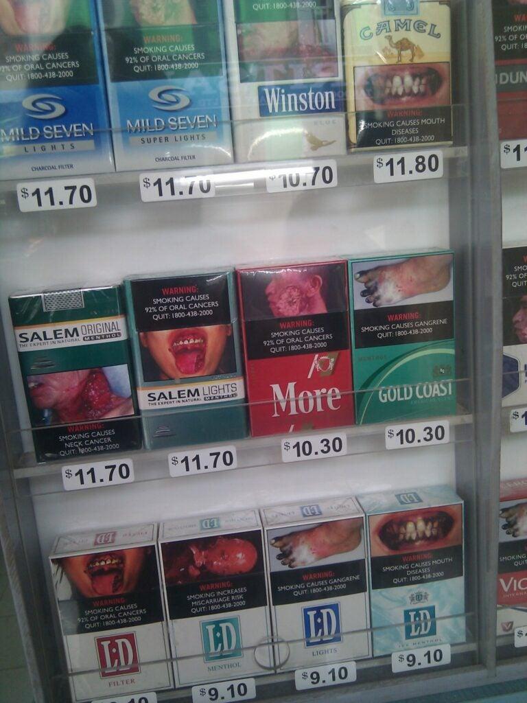 graphic cigarette warnings singapore