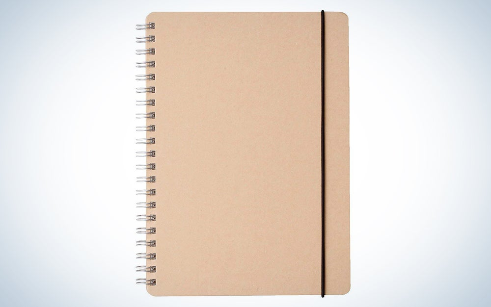 Muji Recycle Paper Double-ring Dot Grid Notebook