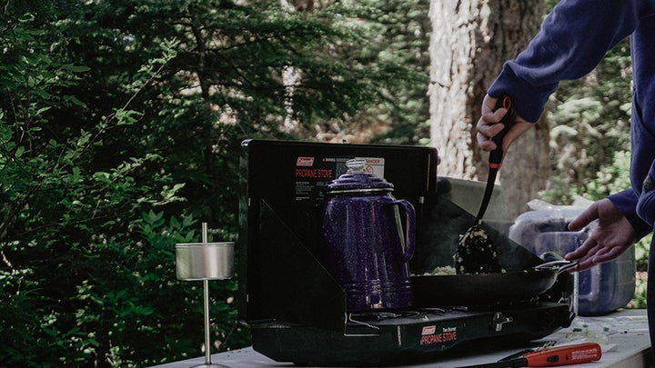 Coleman Gas Camping Stove | Classic Propane Stove, 2 Burner