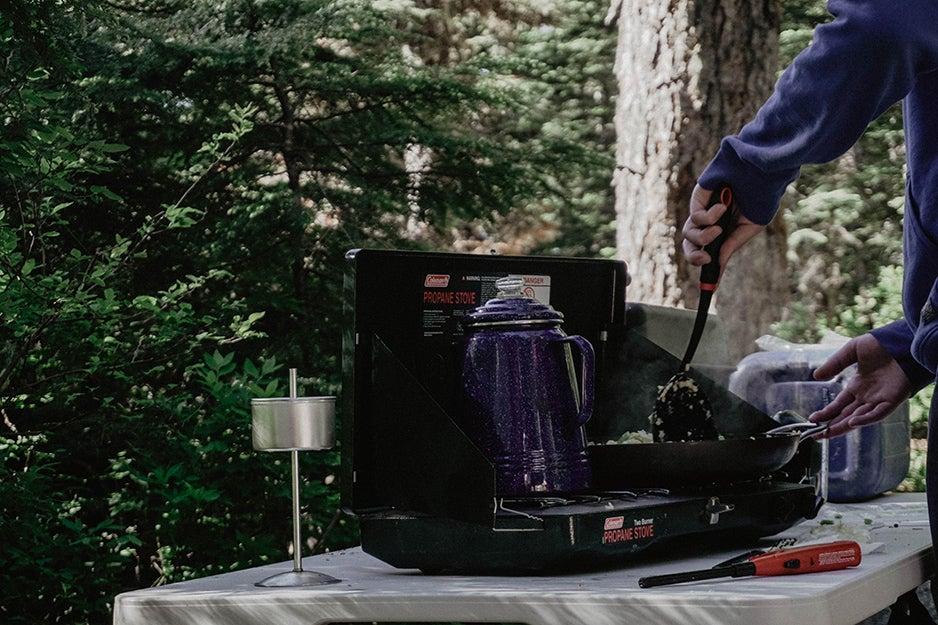 Coleman Gas Camping Stove   Classic Propane Stove, 2 Burner