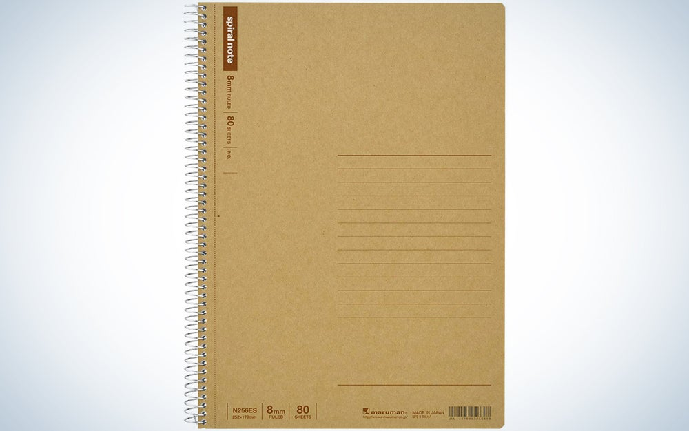 Maruman B5 Hardcover Spiral Notebook