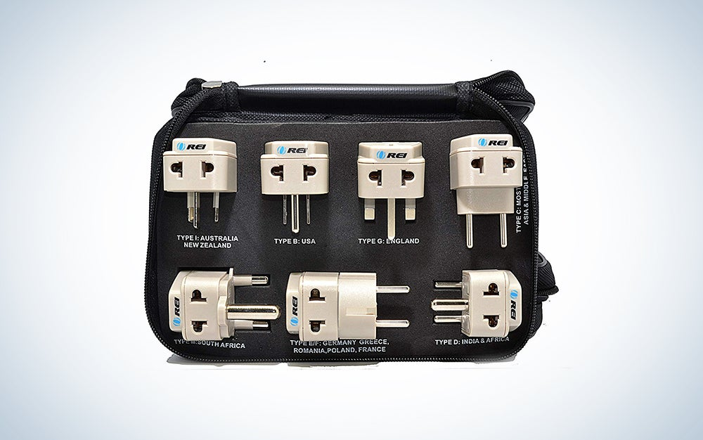 OREI World Travel Adapter Plug Set