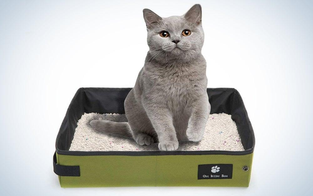 Misyue Cat Collapsible Litter Box