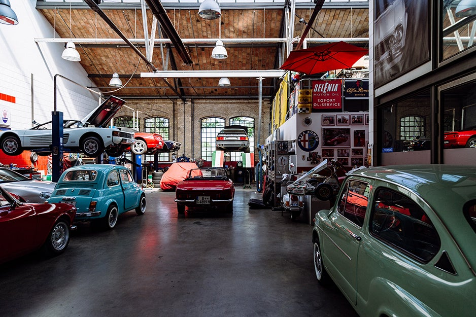 Here's what's inside my dream garage