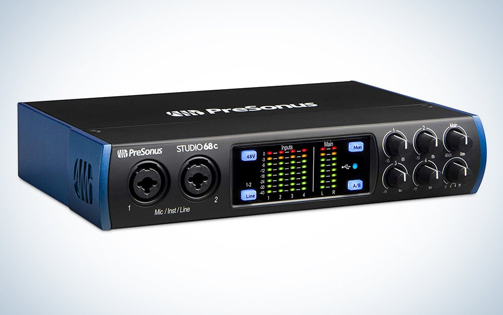 PreSonus Studio 68c 6x6, 192 kHz, USB-C Audio Interface