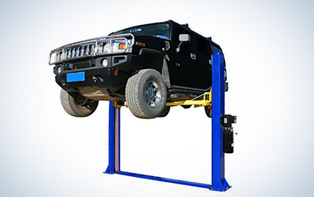 APlusLift HW-10KBP-A 10,000LB Two Post Floor Plate Auto Hoist Car Lift with Combo