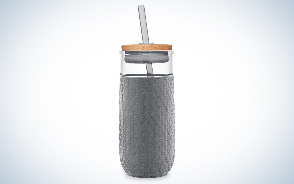 Ello Devon 20-Ounce Glass Tumbler Straw