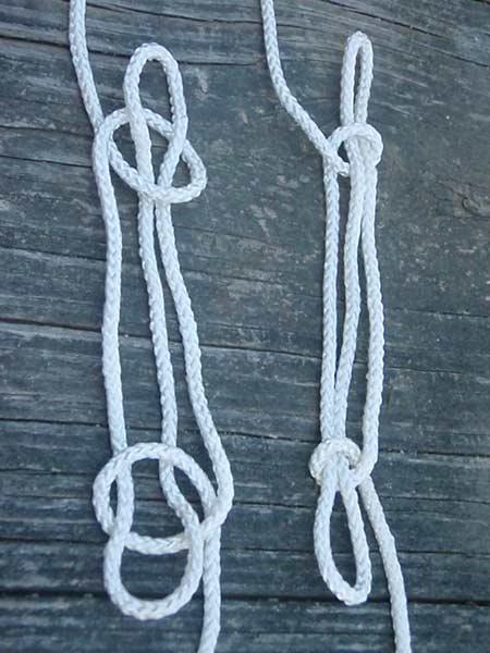 sheepshank knots