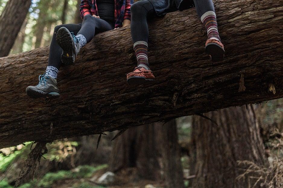 High-tech hiking socks to keep your feet dry