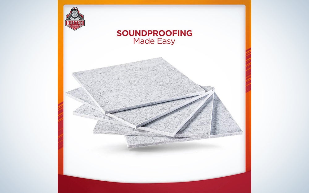 Superdense soundproofing panels - Best sound proof padding wall panels or soundproof door | Better Sound absorbing than acoustic panels, sound proof foam panels