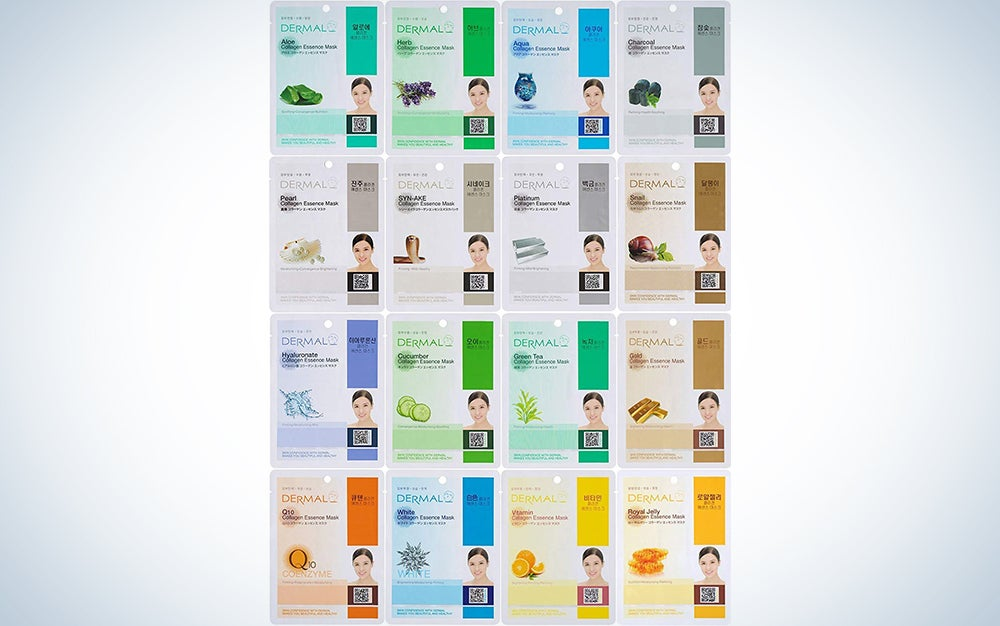 Dermal Korea Collagen Essence Facial Mask Sheet