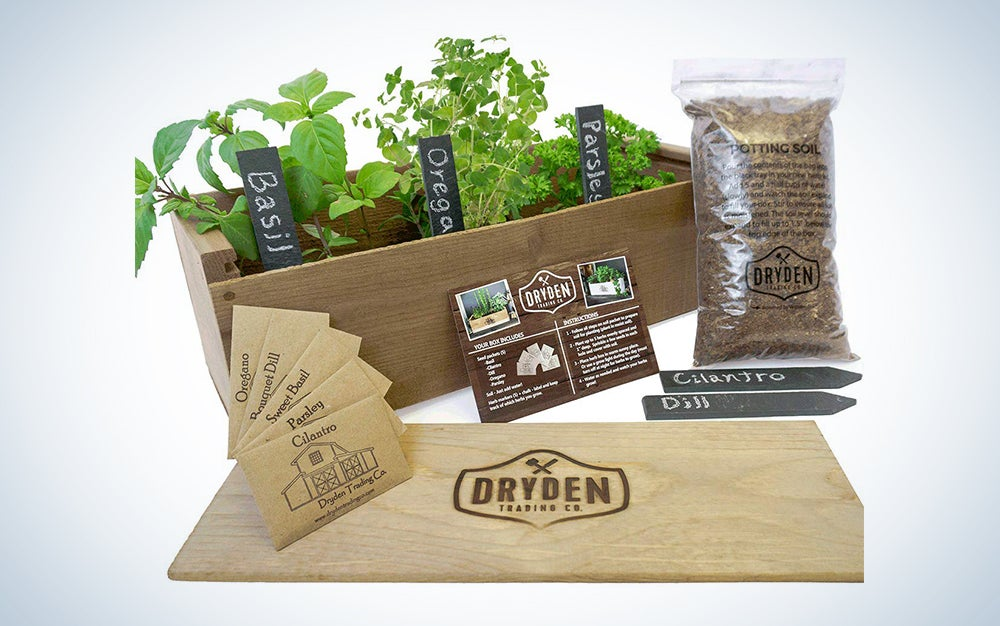 Indoor/Outdoor Herb Garden Kit by Dryden Trading Company