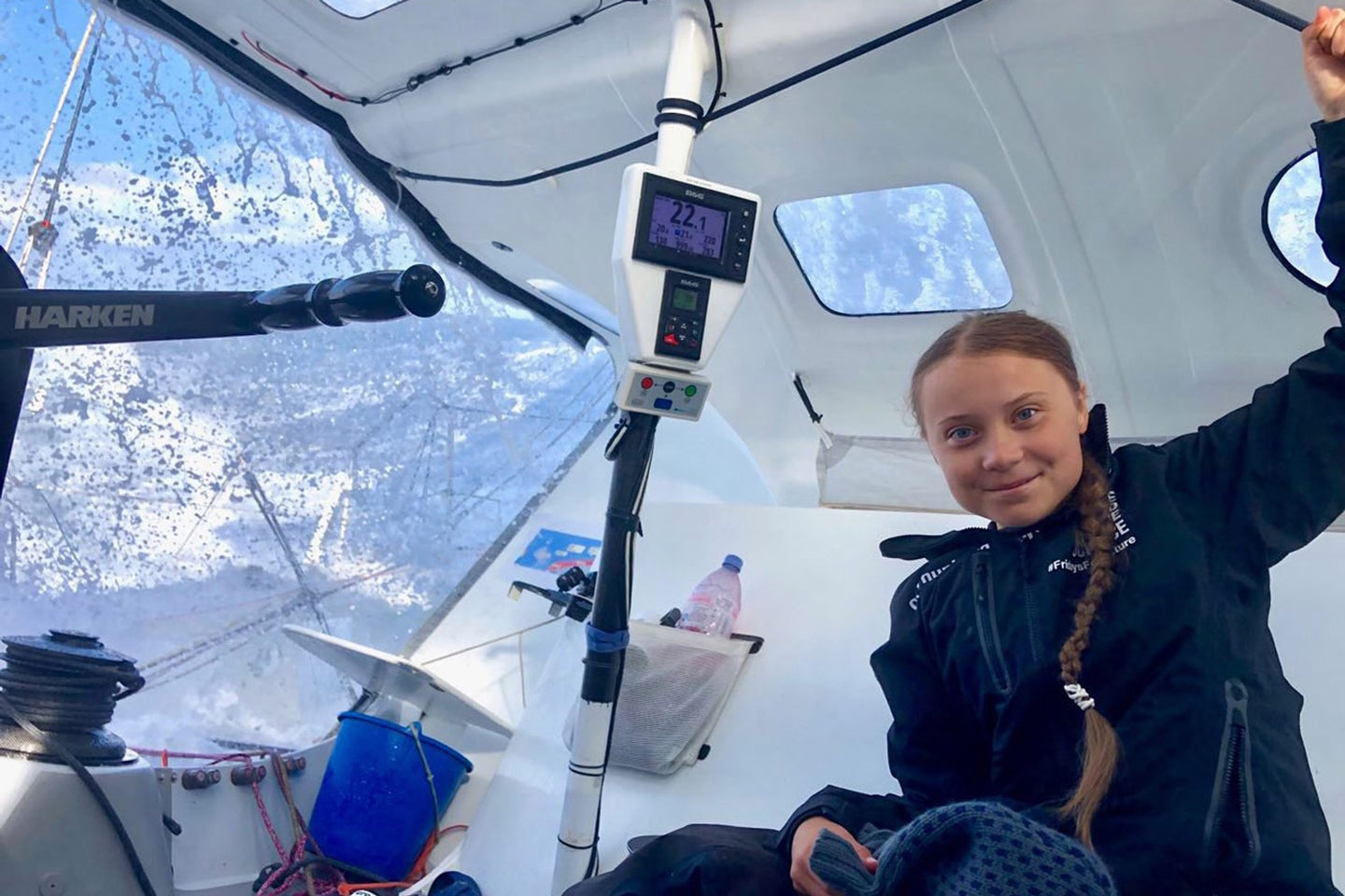 Greta Thunberg crossed the ocean on a carbon-free sailboat. Can we do it too?