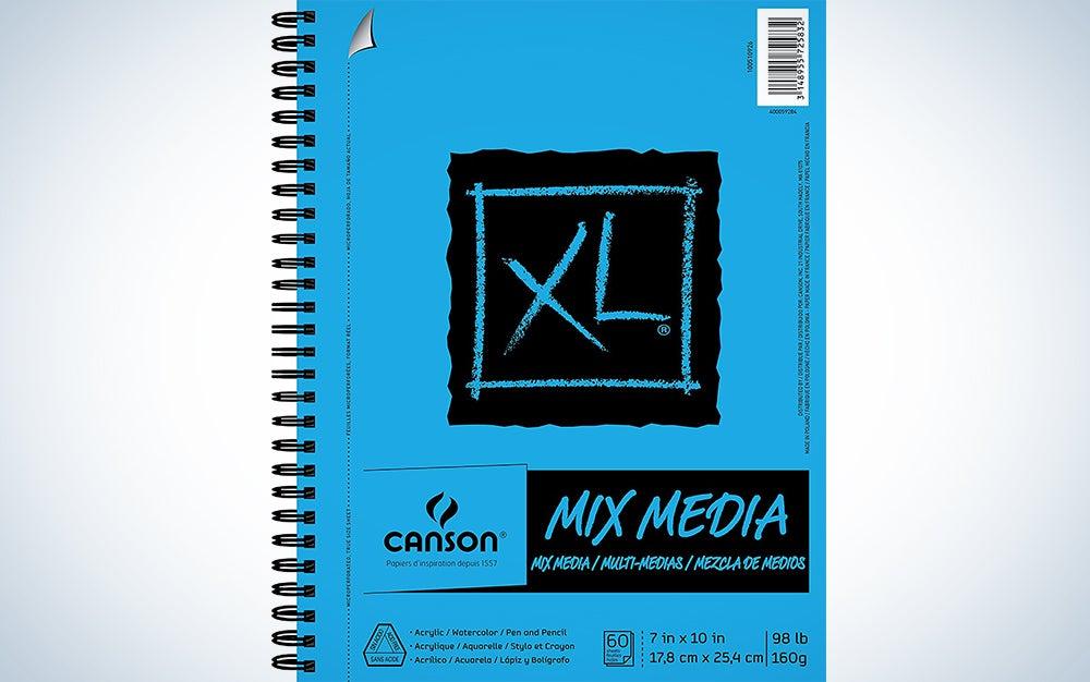 Mixed media sketchbook cost