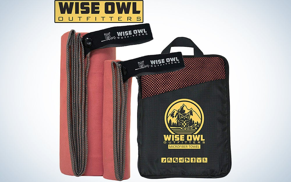 Wise Owl Outfitters Camping Towel