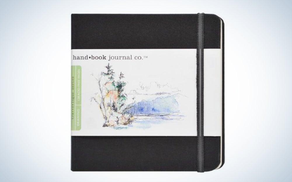 Travelogue Drawing Book Artist Journal
