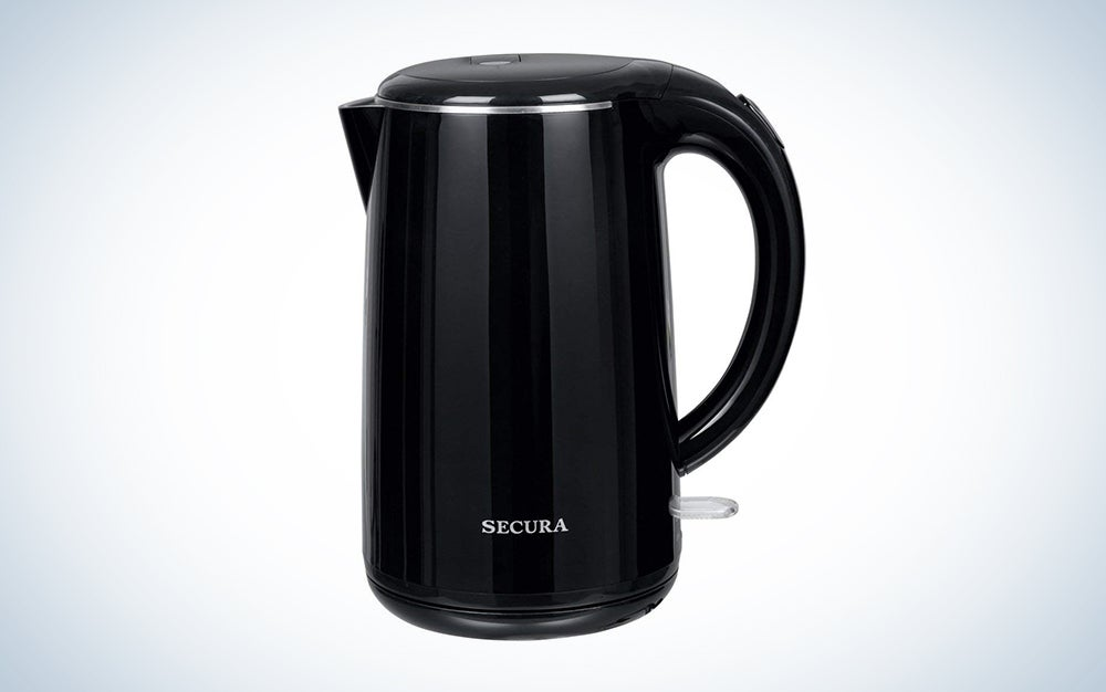 Secura Stainless Steel Double Wall Electric Water Kettle