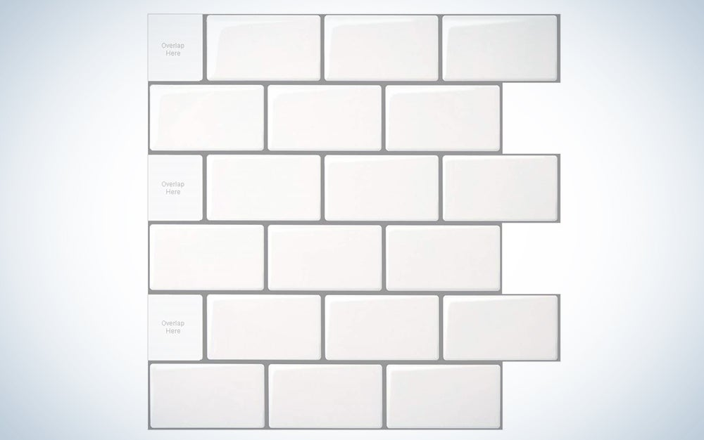 Longking Peel-and-Stick Subway Tiles