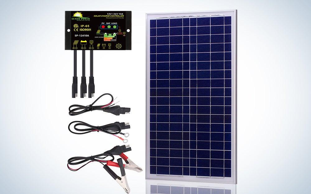 Suner Power 12V Off Grid Solar Panel Kit