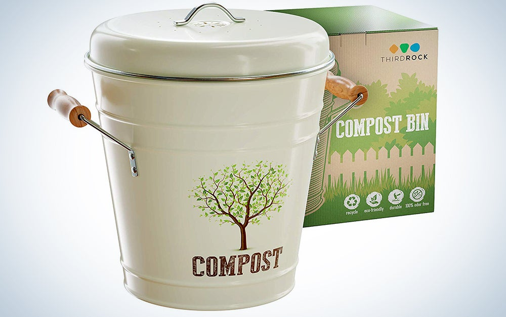 Third Rock Compost Bin for Kitchen Counter