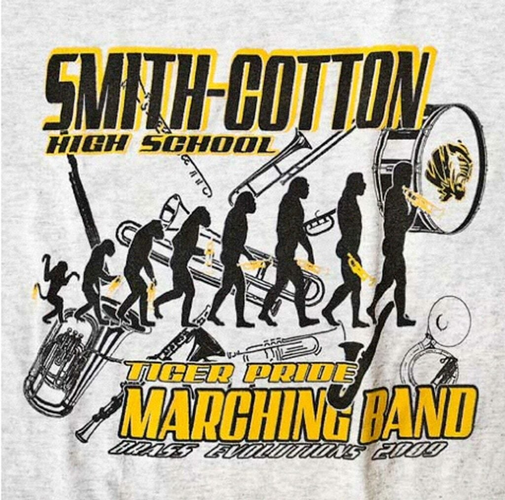 high school marching band t-shirt