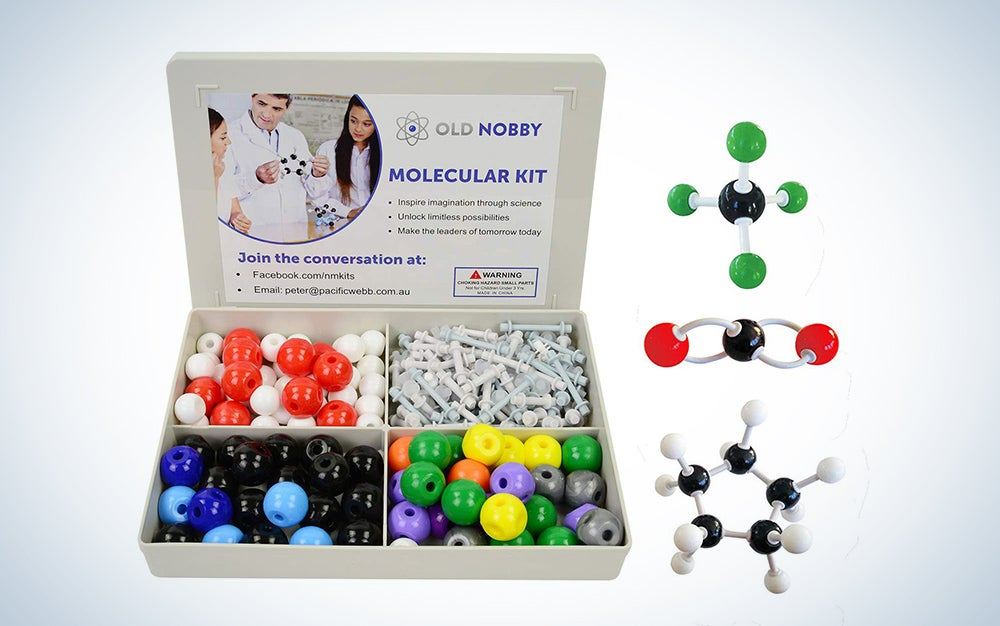 Old Nobby Organic Chemistry Model Kit