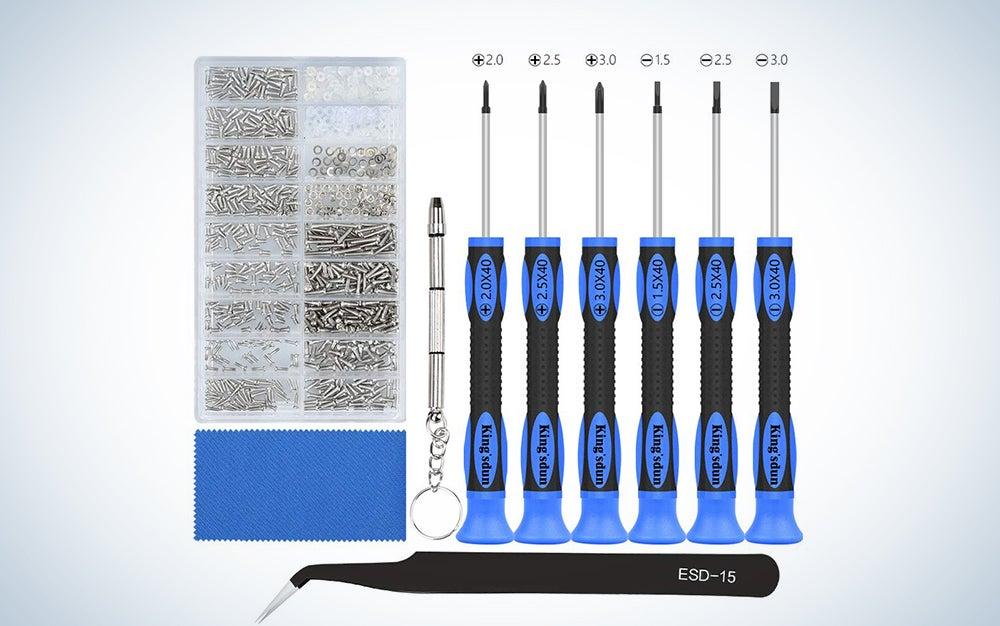 Kingsdun Glasses Precision Screwdriver Set