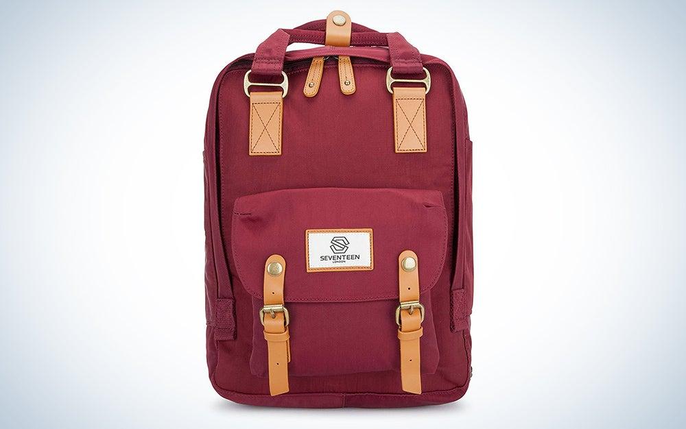 Seventeen London Marylebone Classic Unisex Waterproof Backpack